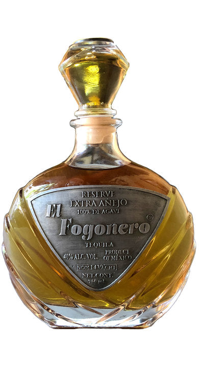 El Fogonero 9 Year Old Reserve Extra Anejo Tequila