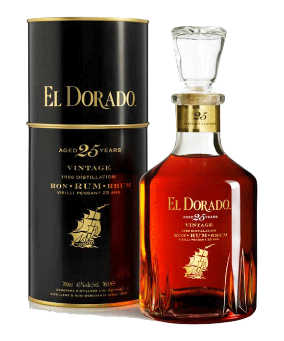 El Dorado 25 Year Old Limited Edition Rum - CaskCartel.com
