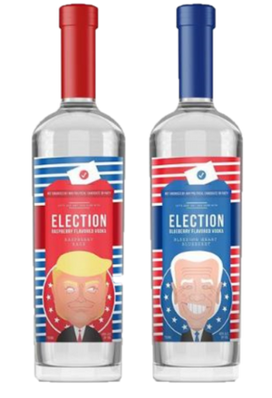 Election Spirits Vodka 2 Bottle Set (INCUMBENT & CHALLENGER) at CaskCartel.com