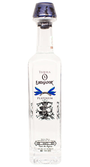 Embajador Platinum Blanco Tequila at CaskCartel.com
