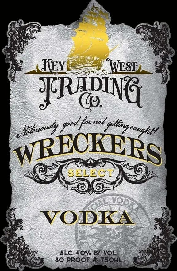 Key West Trading Company Wreckers Select Vodka