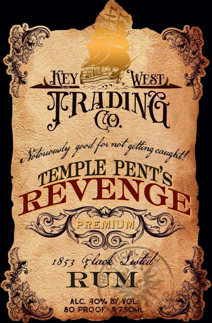 Key West Trading CompanyTemple Pent's Revenge Blacklisted Rum