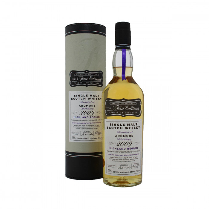 Ardmore 2009 First Editions 9 Year Old Single Malt Scotch Whisky