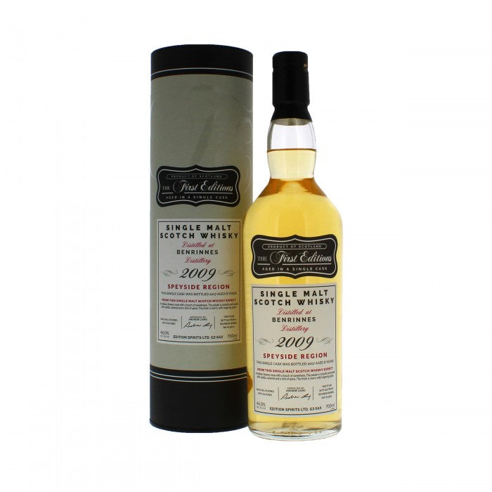 Benrinnes 2009 First Editions Single Malt Scotch Whisky