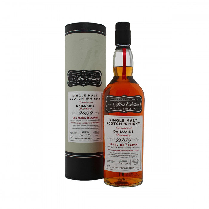 Dailuaine 2009 First Editions 9 Year Old Single Malt Scotch Whisky