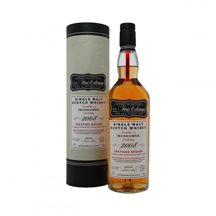 Inchgower 2008 First Editions 10 Year Old Single Malt Scotch Whisky