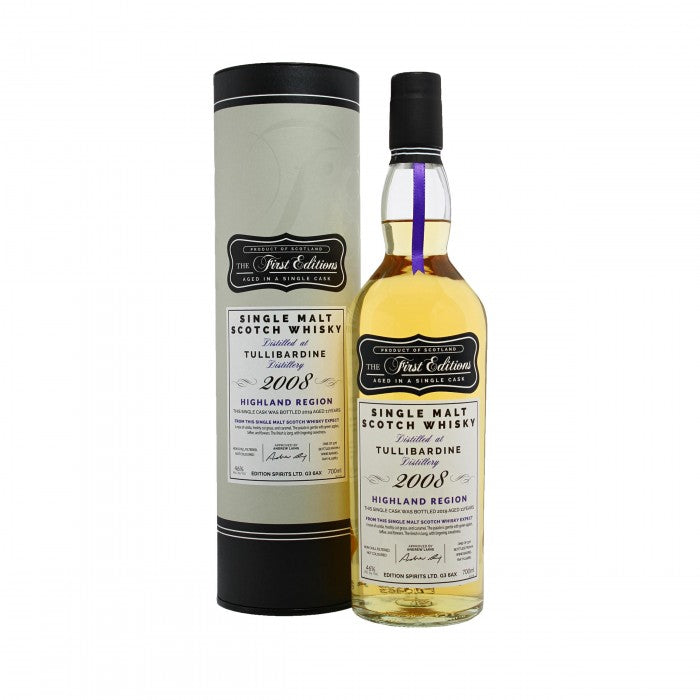 Tullibardine 2008 First Editions 11 Year Old Single Malt Scotch Whisky