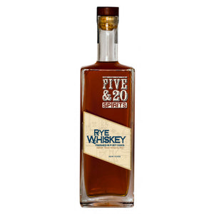 Five & 20 Rye Whiskey | Port Finish at CaskCartel.com