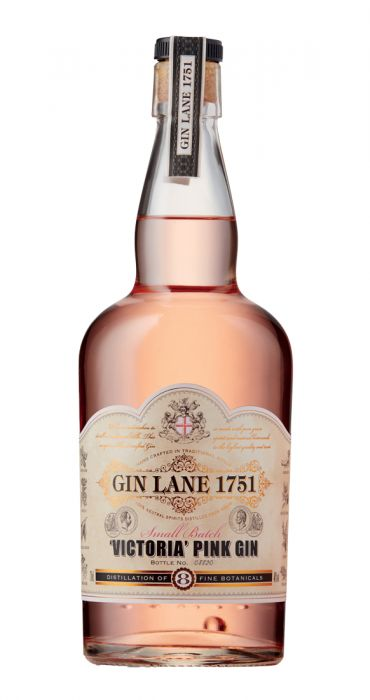 Gin Lane 1751 Small Batch Victoria Pink Gin