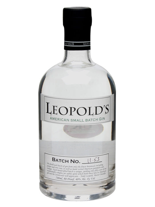 Leopold Bros American Small Batch Gin
