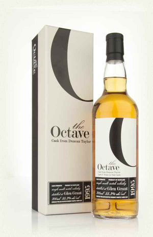 1995 Duncan Taylor Glen Grant The Octave 17 Year Old Single Malt Scotch Whisky - CaskCartel.com