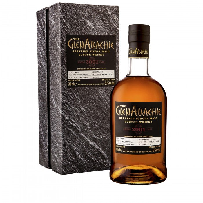GlenAllachie 2001 18 Year Old Cask #4152 Single Malt Scotch Whisky