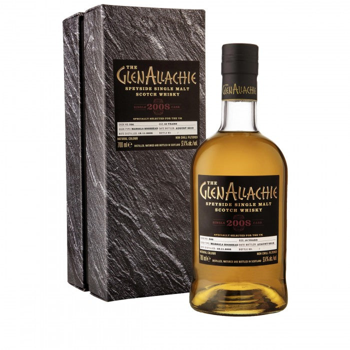 GlenAllachie 2008 #586 10 Year Old Single Malt Scotch Whisky