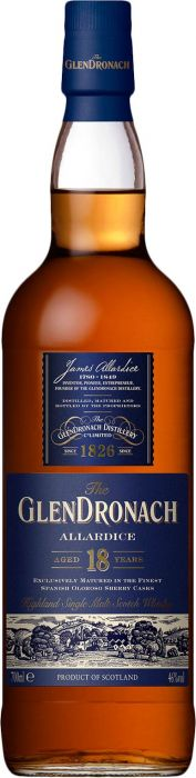 GlenDronach Scotch Single Malt 18 Year Allardice - CaskCartel.com