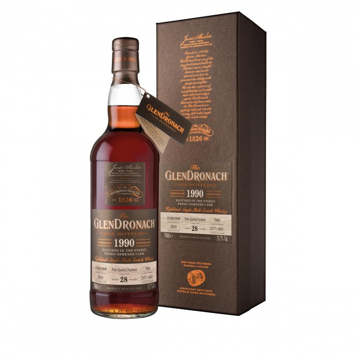 Glendronach 1990 28 Year Old Batch 17 Single Cask #7905 Single Malt Scotch Whisky