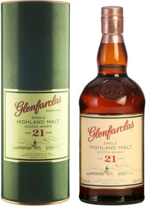 Glenfarclas 21 Year Old Single Malt Scotch Whisky - CaskCartel.com