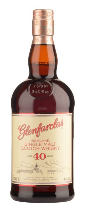 Glenfarclas 40 Year Old Single Malt Scotch Whisky