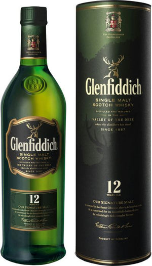 Glenfiddich 12 Year Old Single Malt Scotch Whisky - CaskCartel.com