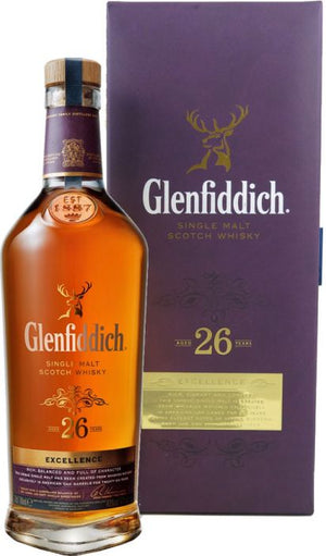 Glenfiddich Excellence 26 Year Old Single Malt Scotch Whisky - CaskCartel.com