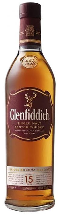 Glenfiddich 15 Year Old Unique Solera Reserve Single Malt Scotch Whisky