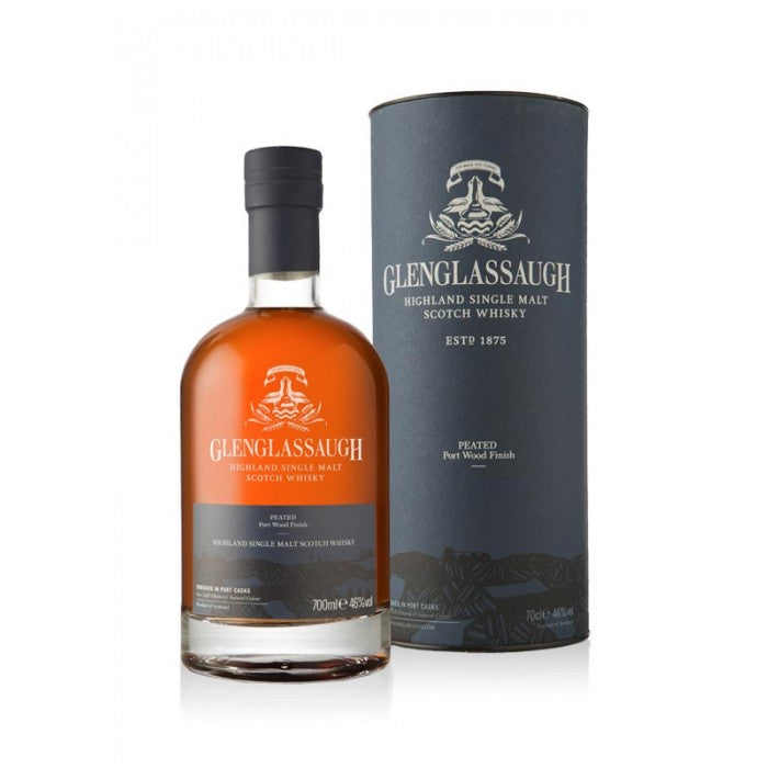Glenglassaugh Peated Port Wood Finish Single Malt Scotch Whisky