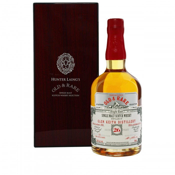 Glen Keith 26 Year Old Platinum Old & Rare Single Malt Scotch Whisky