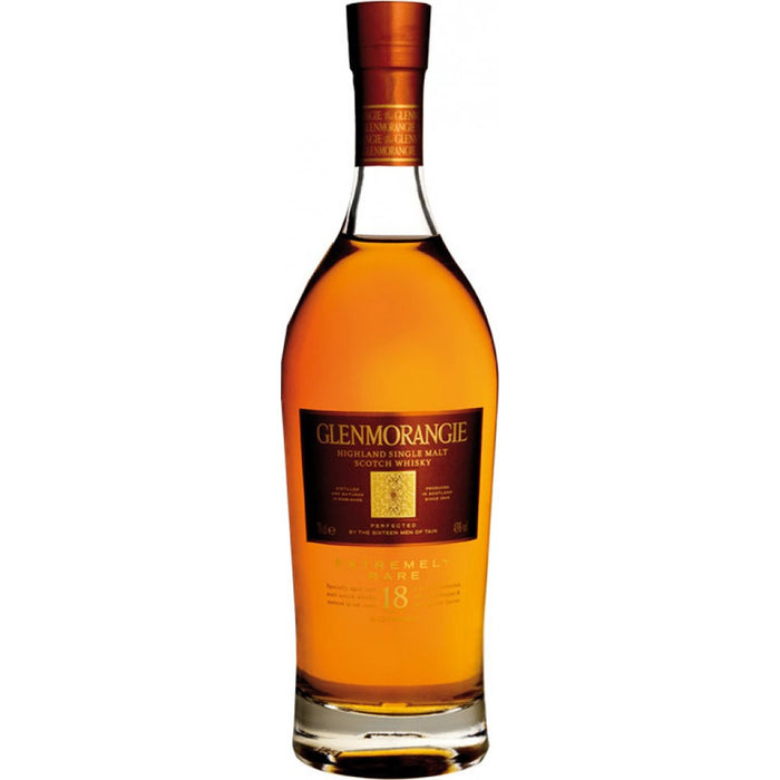 Glenmorangie 18 Year Old Extremely Rare Single Malt Scotch Whisky