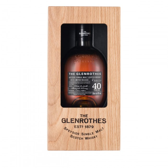 Glenrothes 40 Year Old - Limited Release 2019 Single Malt Scotch Whisky