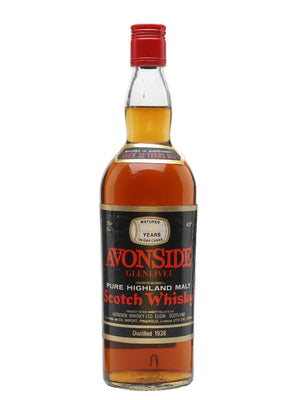 Avonside (Glenlivet) 1938 33 Year Old Speyside Single Malt Scotch Whisky - CaskCartel.com