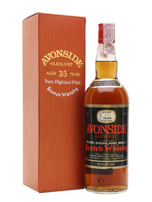 Avonside (Glenlivet) 1938 35 Year Old G&M Speyside Single Malt Scotch Whisky - CaskCartel.com