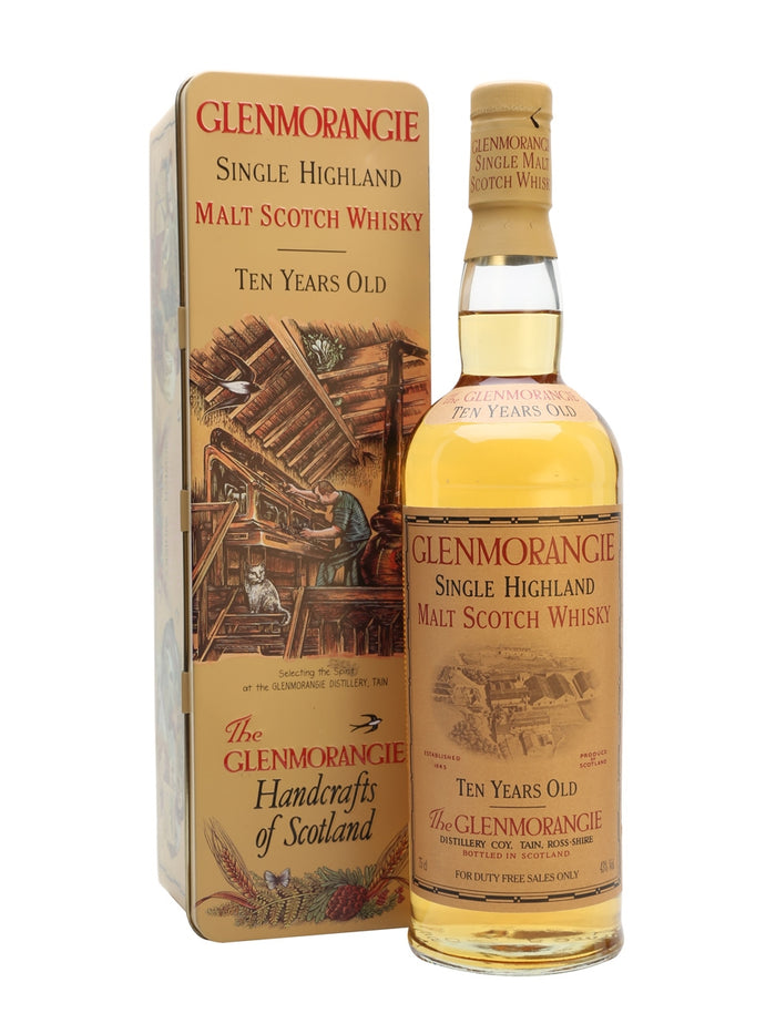 Glenmorangie 10 Year Old 150th Anniversary (1843-1993) Single Malt Scotch Whisky
