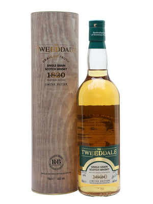 The Tweeddale Grain of Truth Single Grain Scotch Whisky | 700ML at CaskCartel.com