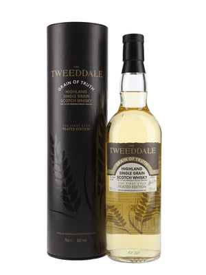 Tweeddale Peated Grain Of Truth Highland Single Grain Whisky | 700ML at CaskCartel.com