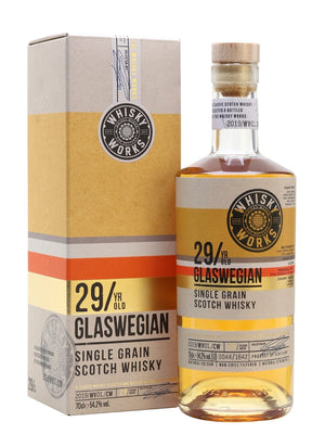 Glaswegian Single Grain 29 Year Old Whisky Works Single Grain Scotch Whisky | 700ML at CaskCartel.com