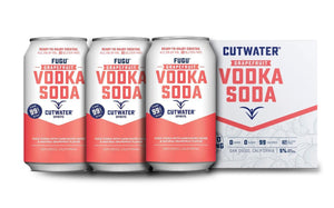 Cutwater | Fugu Grapefruit Vodka Soda (4) Pack Cans at CaskCartel.com