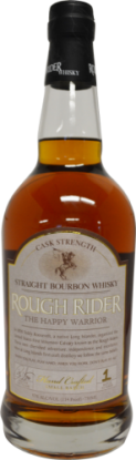 Rough Rider The Happy Warrior Cask Strength Bourbon Whiskey