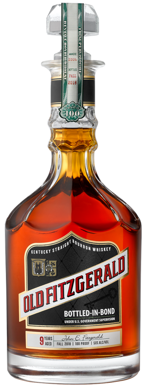 Old Fitzgerald 9 Year Old Bottled in Bond Kentucky Straight Bourbon Whiskey Fall 2018 - CaskCartel.com