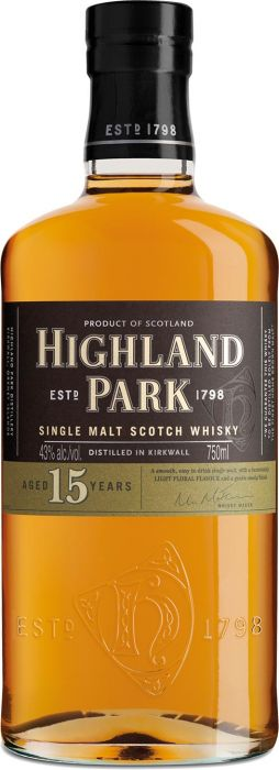 Highland Park 15 Year Old Scotch Whisky - CaskCartel.com