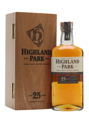 Highland Park 25 Year Old Single Malt Scotch Whisky - CaskCartel.com