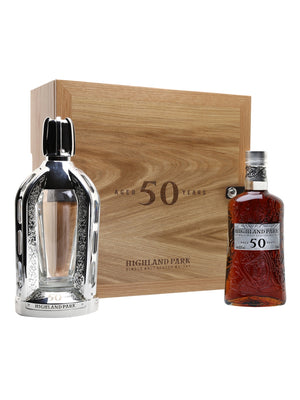 Highland Park 50 Year Old Island Single Malt Scotch Whisky - CaskCartel.com