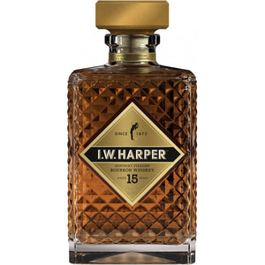 I.W. Harper 15 Year Old Kentucky Straight Bourbon Whiskey - CaskCartel.com