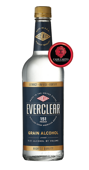 Everclear 151 Grain Alcohol - CaskCartel.com