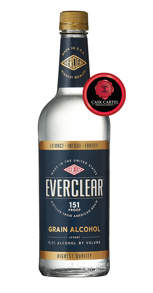 Everclear 151 Grain Alcohol