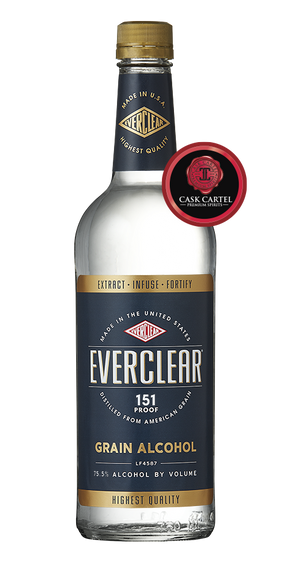 Everclear 151 Proof Grain Alcohol at CaskCartel.com