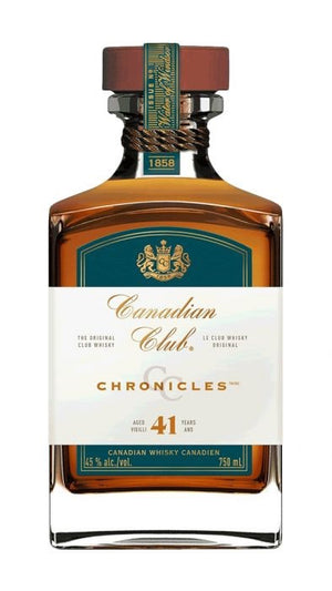 Canadian Club Chronicles 41 Year Old Whisky
