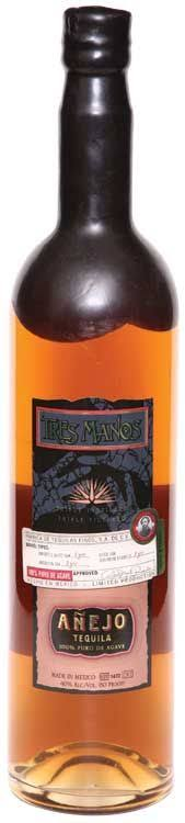 Tres Manos Anejo 3 Year Old Tequila