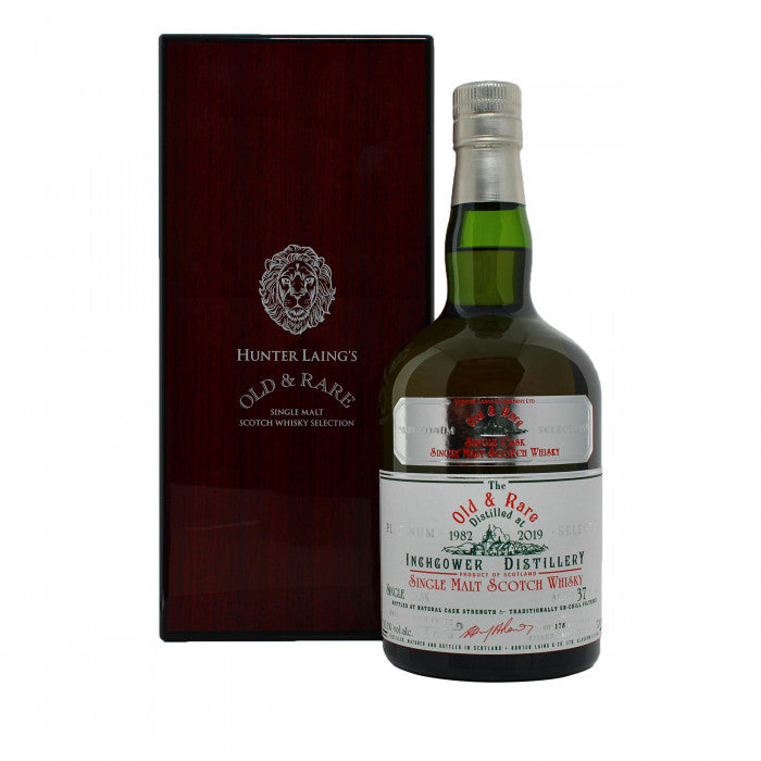 Inchgower 37 Year Old Platinum Old & Rare Single Malt Scotch Whisky