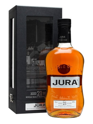 Isle of Jura Distillery 21 Year Old Single Malt Scotch Whisky - CaskCartel.com