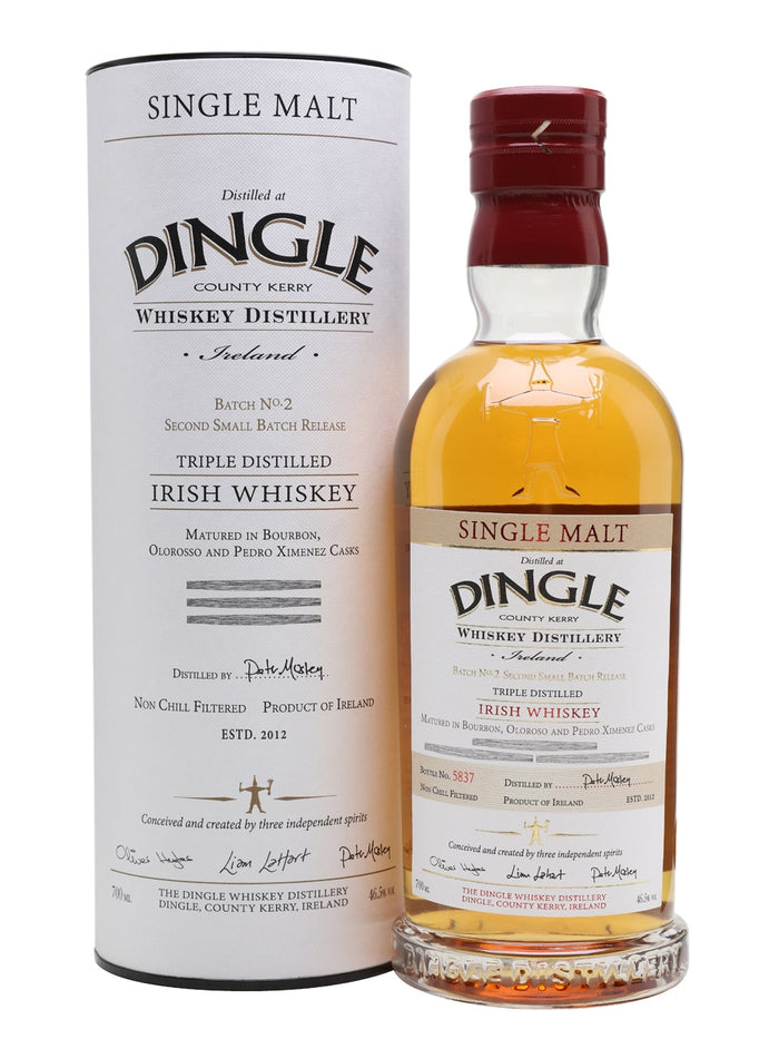 Dingle Distillery Batch No.2 Single Malt Irish Whiskey