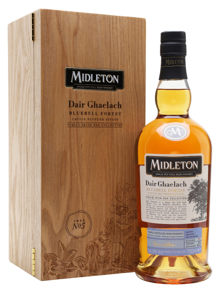 Midleton Distillery Dair Ghaelach Bluebell Forest Tree 5 Irish Whiskey